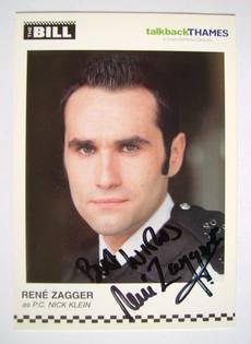 Rene Zagger autograph