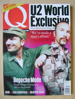 <!--1997-03-->Q magazine - Bono and The Edge cover (March 1997)