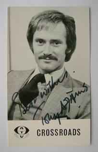 Tony Adams autograph (ex Crossroads actor)