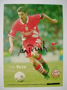 Ian Rush autograph