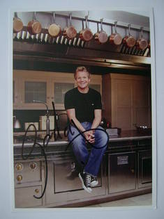 Gordon Ramsay autograph (hand-signed photograph)