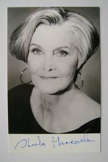 Sheila Hancock autograph