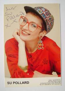 Su Pollard autograph