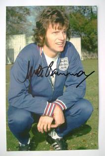 Mick Channon autograph