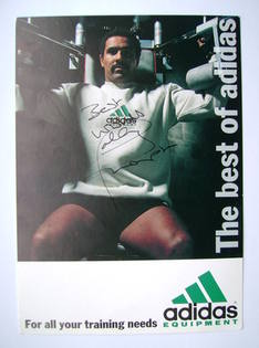 Daley Thompson autograph