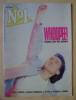 <!--1986-01-25-->No 1 Magazine - Feargal Sharkey cover (25 January 1986)