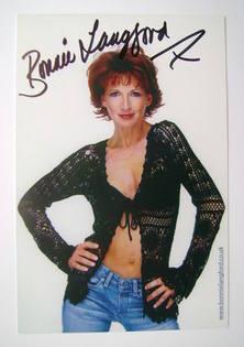 Bonnie Langford autograph (hand-signed photograph)