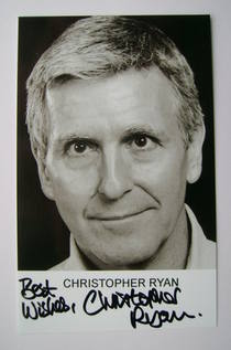 Christopher Ryan autographed photo
