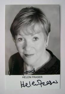 Helen Fraser autograph (hand-signed photograph)