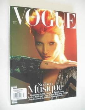 French Paris Vogue magazine - December 2011/January 2012 - Kate Moss cover