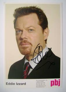 Eddie Izzard autograph (hand-signed photograph)