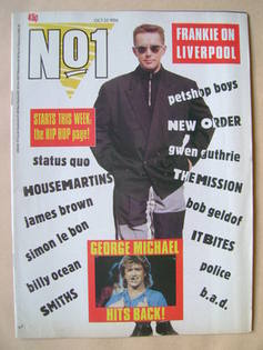 <!--1986-10-25-->No 1 Magazine - Holly Johnson cover (25 October 1986)