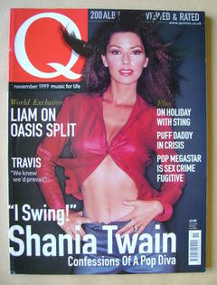 <!--1999-11-->Q magazine - Shania Twain cover (November 1999)
