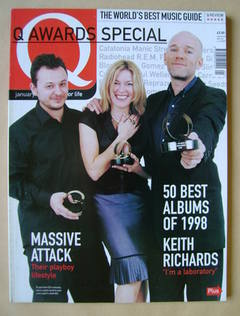<!--1999-01-->Q magazine - James Dean Bradfield, Cerys Matthews, Michael St