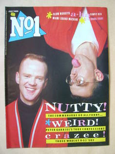 <!--1986-06-07-->No 1 Magazine - The Communards cover (7 June 1986)