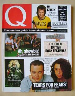 Q magazine - September 1989
