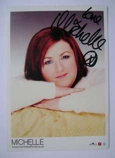 Michelle McManus autograph