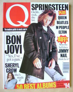 Q magazine - Jon Bon Jovi cover (February 1995)