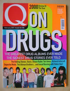 <!--2001-02-->Q magazine - On Drugs cover (February 2001)