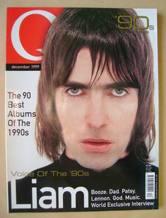 <!--1999-12-->Q magazine - Liam Gallagher cover (December 1999)
