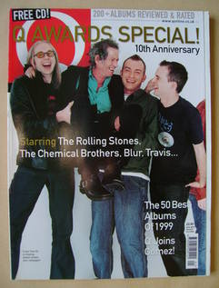 <!--2000-01-->Q magazine - Awards Special cover (January 2000)