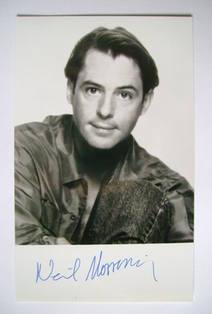 Neil Morrissey autograph