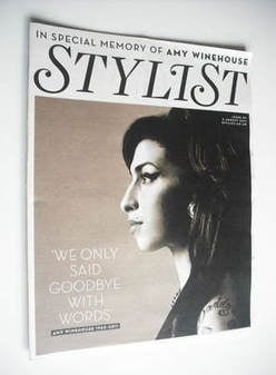 Stylist magazine - Issue 89 (3 August 2011 - Amy Winehouse cover)