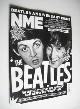 <!--2011-12-31-->NME magazine - Paul McCartney and John Lennon cover (31 De