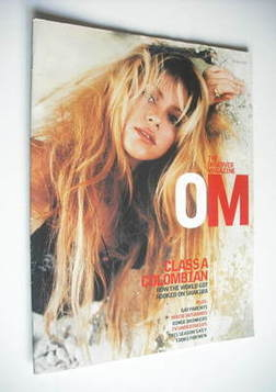 <!--2002-07-14-->The Observer magazine - Shakira cover (14 July 2002)