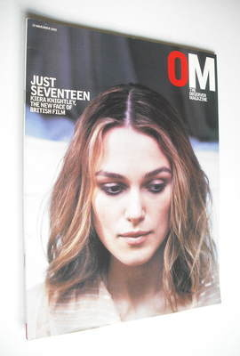 <!--2002-11-10-->The Observer magazine - Keira Knightley cover (10 November
