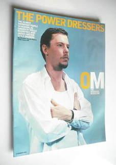 <!--2003-02-09-->The Observer magazine - Alexander McQueen cover (9 Februar