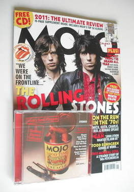 Mojo Magazine The Rolling Stones Cover January 2012
