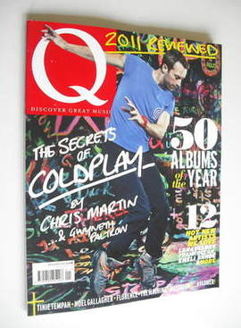 <!--2012-01-->Q magazine - Coldplay cover (January 2012)