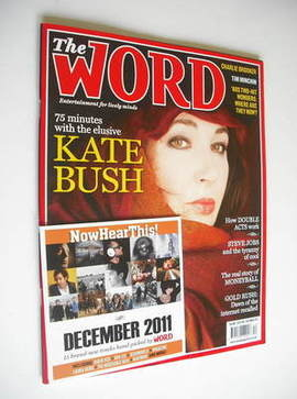 <!--2011-12-->The Word magazine - Kate Bush cover (December 2011)