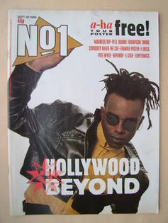 <!--1986-09-20-->No 1 Magazine - Mark Rogers cover (20 September 1986)