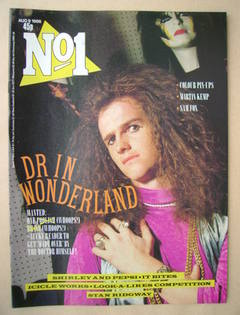 <!--1986-08-09-->No 1 Magazine - The Doctor cover (9 August 1986)