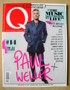 <!--2011-11-->Q magazine - Paul Weller cover (November 2011)