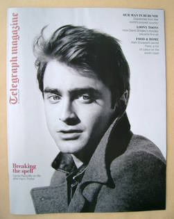 <!--2012-01-28-->Telegraph magazine - Daniel Radcliffe cover (28 January 20
