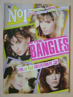 No 1 Magazine - The Bangles cover (3 May 1986)