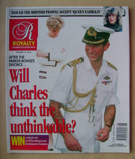 <!--1995-03-->Royalty Monthly magazine - Prince Charles and Princess Diana