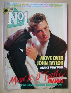 <!--1985-04-06-->No 1 Magazine - Mark O'Toole cover (6 April 1985)