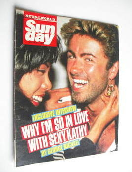 <!--1987-09-06-->Sunday magazine - 6 September 1987 - George Michael and Ka