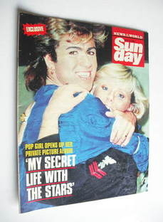 <!--1989-07-23-->Sunday magazine - 23 July 1989 - George Michael cover