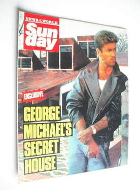 <!--1988-06-12-->Sunday magazine - 12 June 1988 - George Michael cover