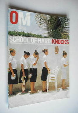 <!--2003-06-29-->The Observer magazine - School Of Hard Knocks cover (29 Ju