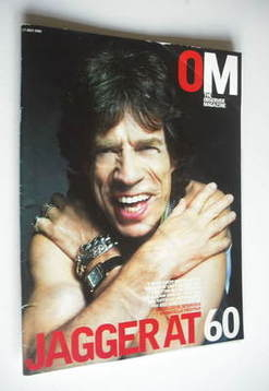 <!--2003-07-13-->The Observer magazine - Mick Jagger cover (13 July 2003)