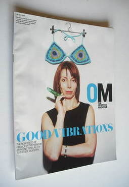 <!--2003-07-20-->The Observer magazine - Julia Gash cover (20 July 2003)