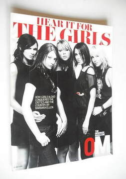 <!--2003-07-27-->The Observer magazine - Girls Aloud cover (27 July 2003)