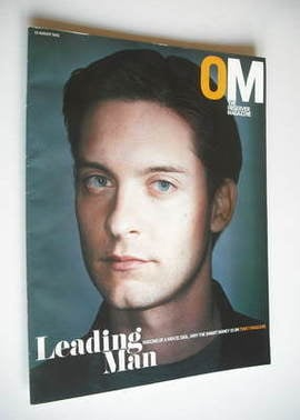 <!--2003-08-10-->The Observer magazine - Tobey Maguire cover (10 August 200