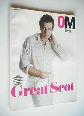 <!--2003-09-07-->The Observer magazine - Ewan McGregor cover (7 September 2